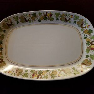 Homecoming by NORITAKE 1960's Serving Platter